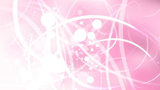 Abstract Pink and White Blurred Bokeh Background Image