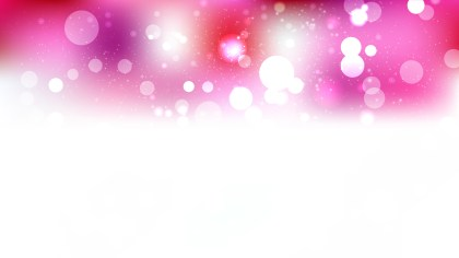 Abstract Pink and White Blurry Lights Background Vector Image