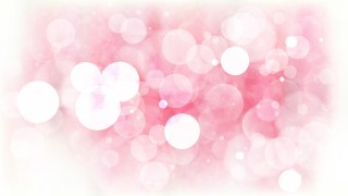 Abstract Pink and White Lights Background Illustration