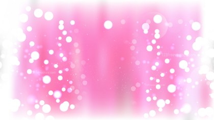 Pink and White Illuminated Background