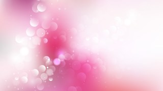 Pink and White Bokeh Defocused Lights Background