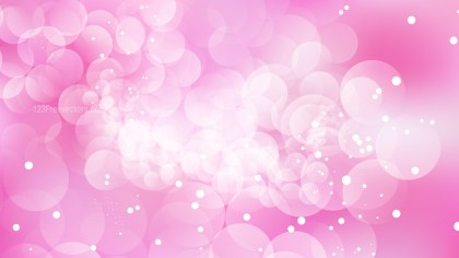 Pink and White Lights Background