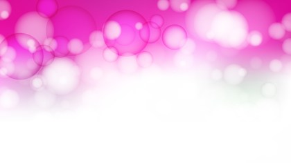 Pink and White Blur Lights Background Illustrator