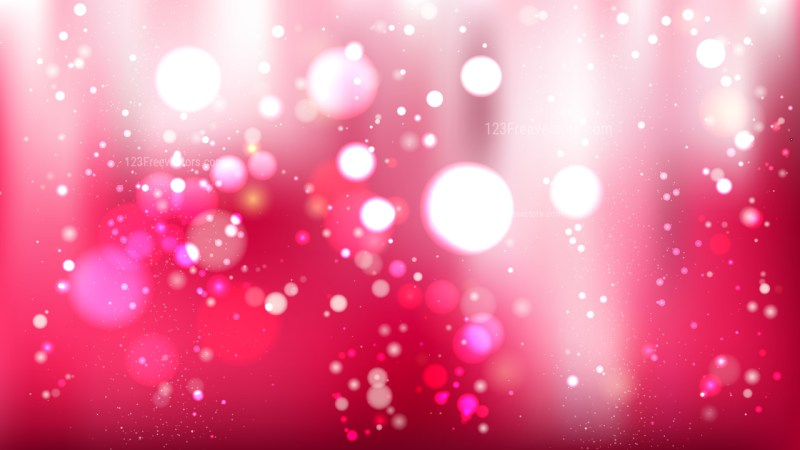 Abstract Pink and White Defocused Background Image