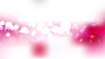 Pink and White Blurred Lights Background Design