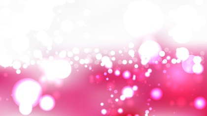 Pink and White Blurry Lights Background Image