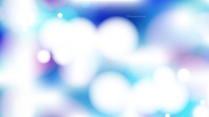 Pink Blue and White Lights Background Vector Image