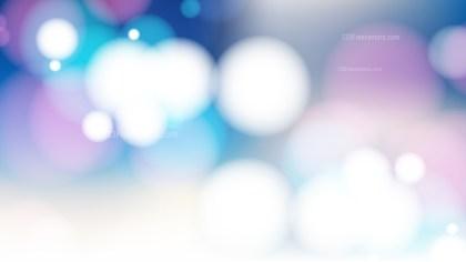 Pink Blue and White Defocused Lights Background Design