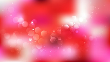 Pink Red and White Defocused Lights Background