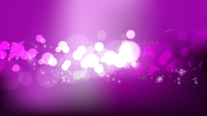 Purple Blurred Lights Background Vector