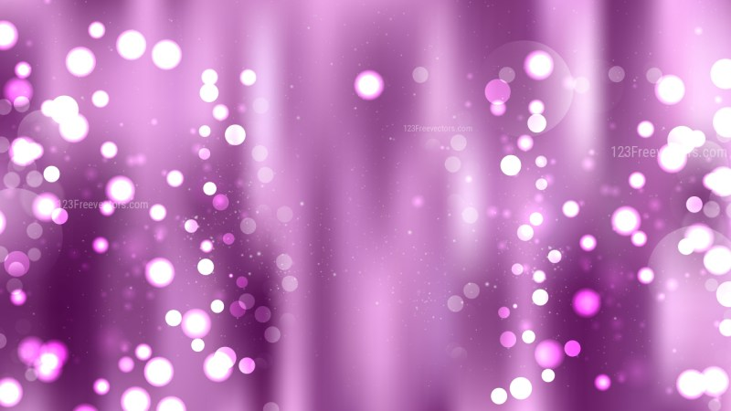 Purple Bokeh Background Graphic
