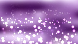 Abstract Purple Bokeh Lights Background