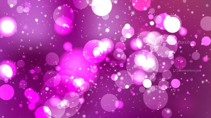 Purple Blurred Bokeh Background