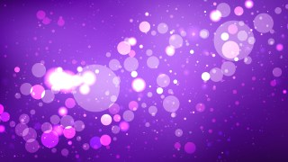 Purple Blurred Lights Background
