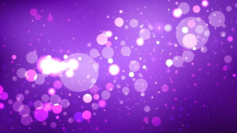 Purple Blurred Lights Background