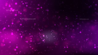 Abstract Purple and Black Bokeh Background