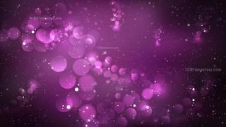 Abstract Purple and Black Bokeh Defocused Lights Background Illustration