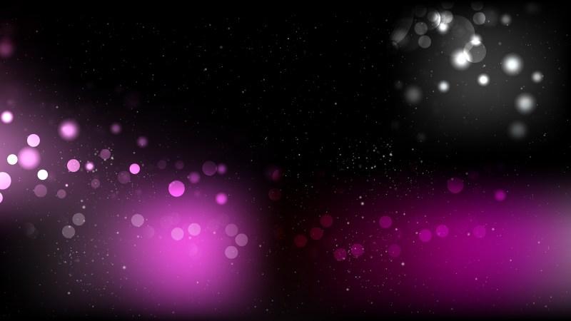 Purple and Black Bokeh Background