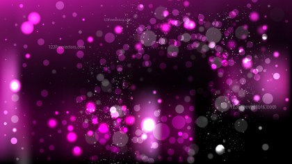 Abstract Purple and Black Blurred Bokeh Background Vector Illustration