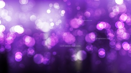 Abstract Purple and Black Defocused Lights Background Vector Graphic