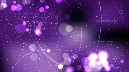 Purple and Black Blur Lights Background