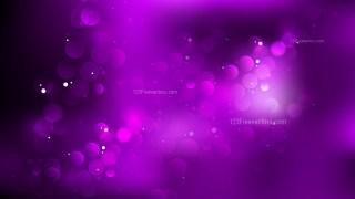 Purple and Black Bokeh Lights Background Design