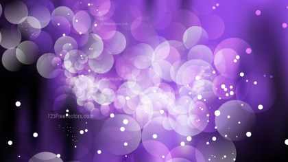 Abstract Purple and Black Blurry Lights Background Vector Art