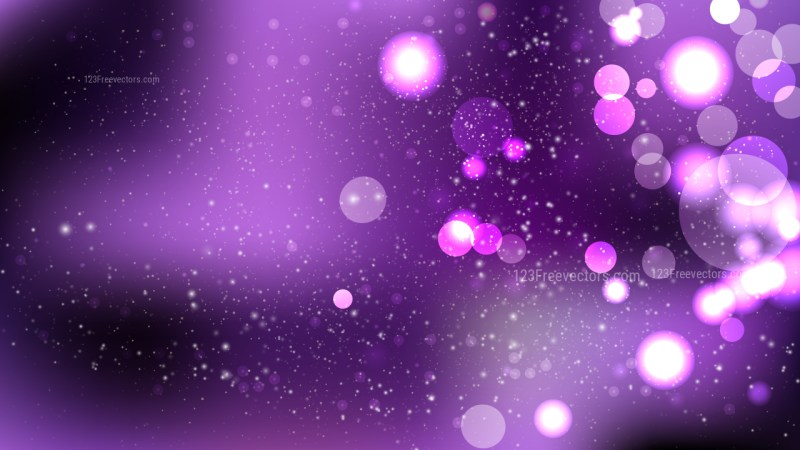 Abstract Purple and Black Illuminated Background Vector Art