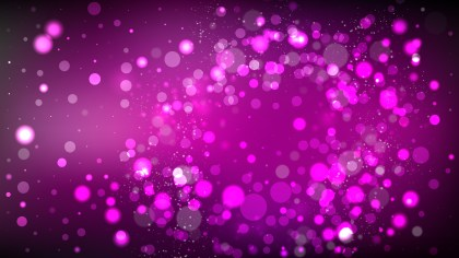 Abstract Purple and Black Blurred Bokeh Background