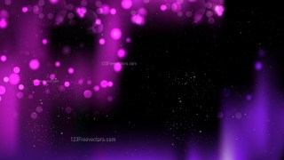 Abstract Purple and Black Blurred Bokeh Background Illustration