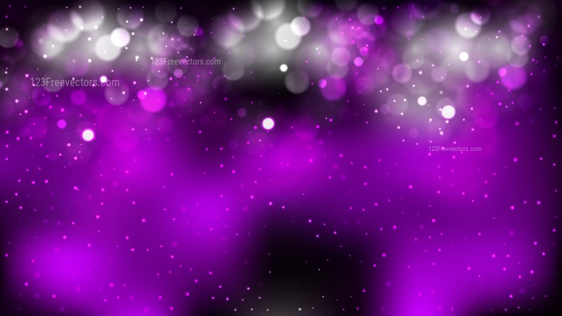 Abstract Purple and Black Lights Background Vector Art