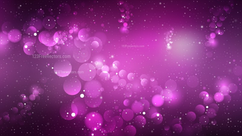 Abstract Purple and Black Blur Lights Background Vector
