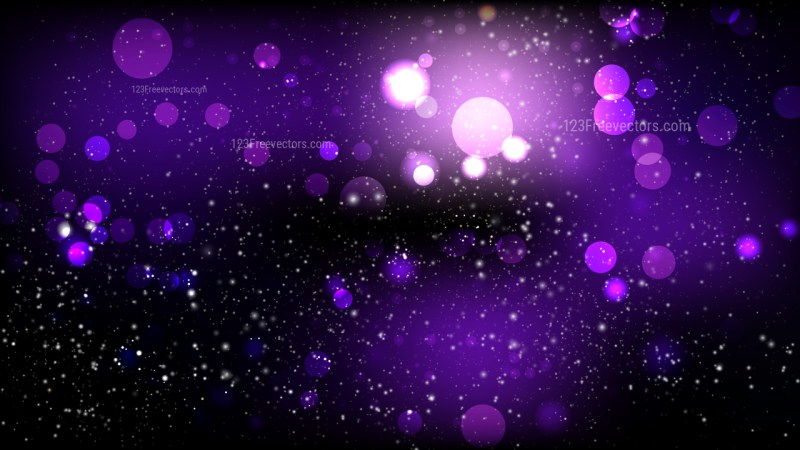 Abstract Purple and Black Defocused Background Vector Image