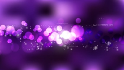 Abstract Purple and Black Lights Background Vector Illustration