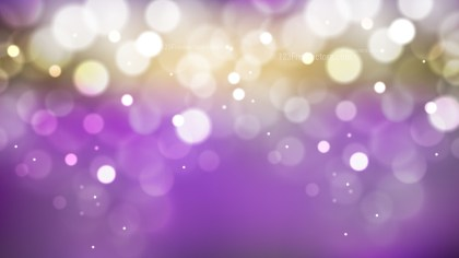 Abstract Purple and Gold Bokeh Background Vector Graphic