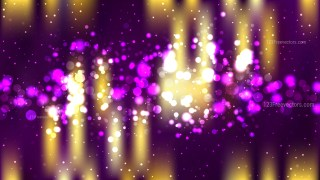 Abstract Purple and Gold Defocused Background Vector Illustration