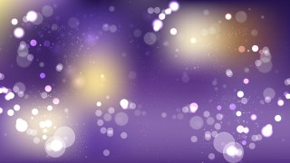 Purple and Gold Blurred Lights Background