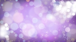 Purple and White Defocused Lights Background