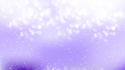 Purple and White Lights Background