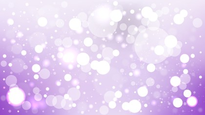 Purple and White Blurred Bokeh Background Vector Image