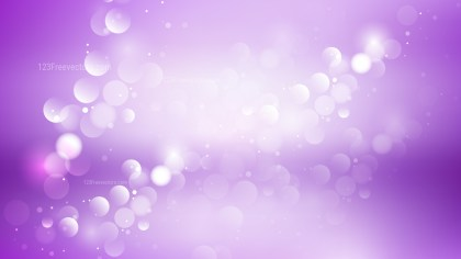 Purple and White Blurry Lights Background Vector Illustration