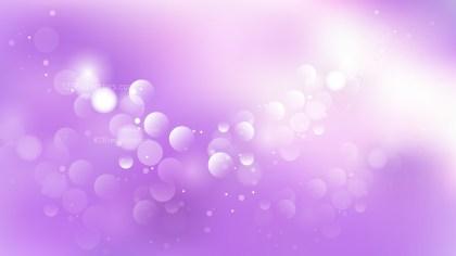 Purple and White Bokeh Defocused Lights Background Vector Art
