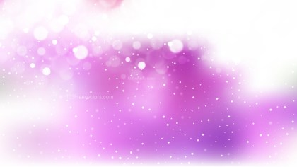 Purple and White Lights Background Vector Image