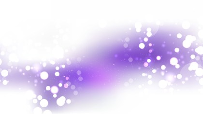 Abstract Purple and White Blur Lights Background