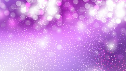 Abstract Purple and White Blurred Lights Background