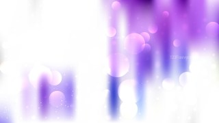 Abstract Purple and White Bokeh Background