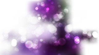 Abstract Purple and White Bokeh Defocused Lights Background