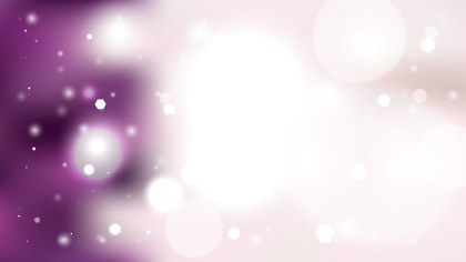 Abstract Purple and White Defocused Background