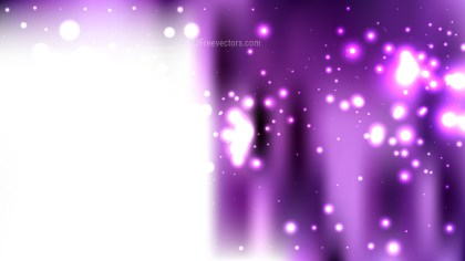 Abstract Purple and White Blurred Lights Background Vector