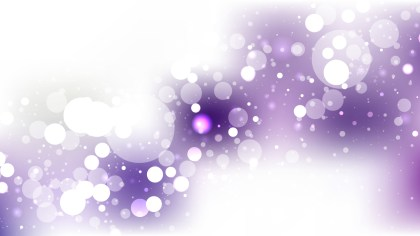 Abstract Purple and White Illuminated Background